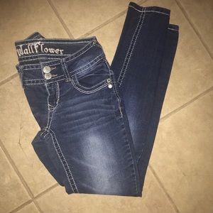 Wallflower Skinny Stretch Women's Jeans Size 1